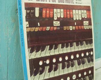 Vintage Music Book - Piano Big Pop Note - Sheet Music - Organ - Song Book