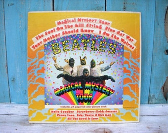 The Beatles Magical Mystery Tour - 1967 - Capitol SMAL 2835