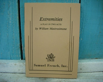 Vintage Book - Extremities - A Performing Arts Book
