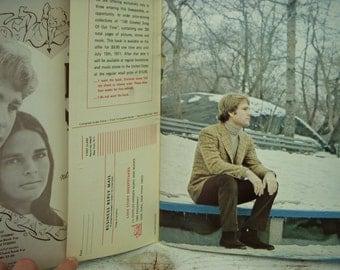 Vintage Love Story Souvenir Album - Sheet Music Booklet