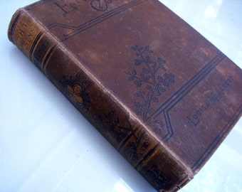 Antique Book - Eight Cousins by Louisa May Alcott - 1894 Edition