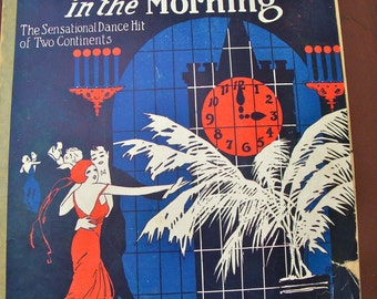 Vintage Sheet Music - 1920's Piano Song