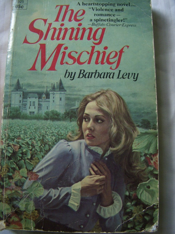 The Shining Mischief - Vintage - Paperback - Reading Book - Mid Century - Cozy Cabin - Intrigue - French - American - Mystery