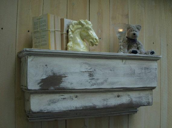 Wood Wall Shelf Ledge - You Choose Color - 31 Inch
