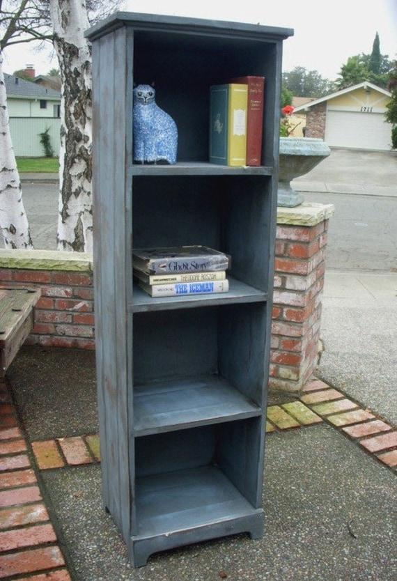 "Rustic Home Decor - Book Shelf - Shelving - Bookcase - Shelves - Rustic Pine Shelf - Cabinet -Bookcase - 56"" Tall x 12.5"" Deep x 18"" Wide"