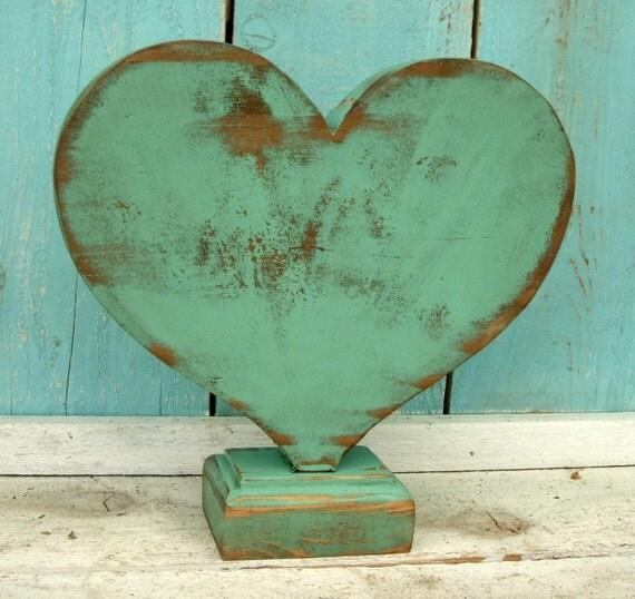 Handmade Wooden Heart - What Wood Your Heart Love