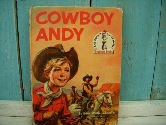 Vintage Book - Cowboy Andy - Random House Beginner Books