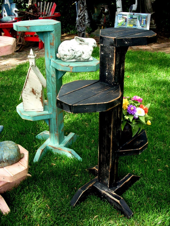 Plant Stand Serving Table Decorative Corner By Honeystreasures