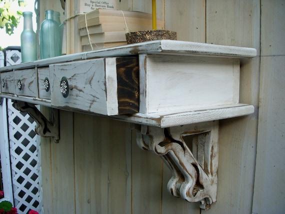 Floating Shelves -  Mantel - Home Decor - Wet Bar - Shelf - Rustic Home Decor - Shelf - 44.5 long x 14 high x 9.25 deep