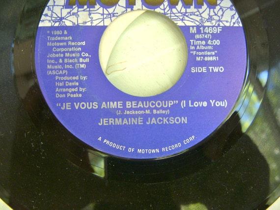 Motown Records Jermaine Jackson Vintage 45