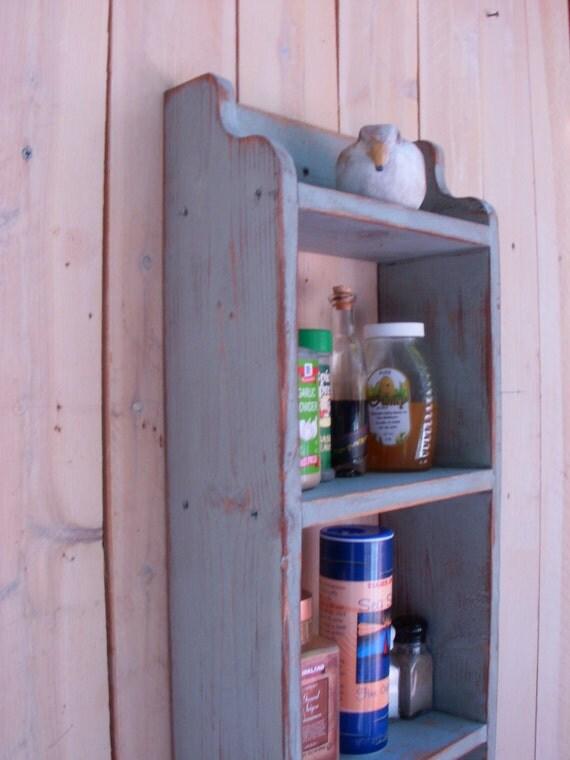 Wooden - Bath Towel Holder - Spice Rack - Wood Kitchen Shelf - Shelves - Towel Holder - Rustic Home Decor - French Country - Paris Apartment