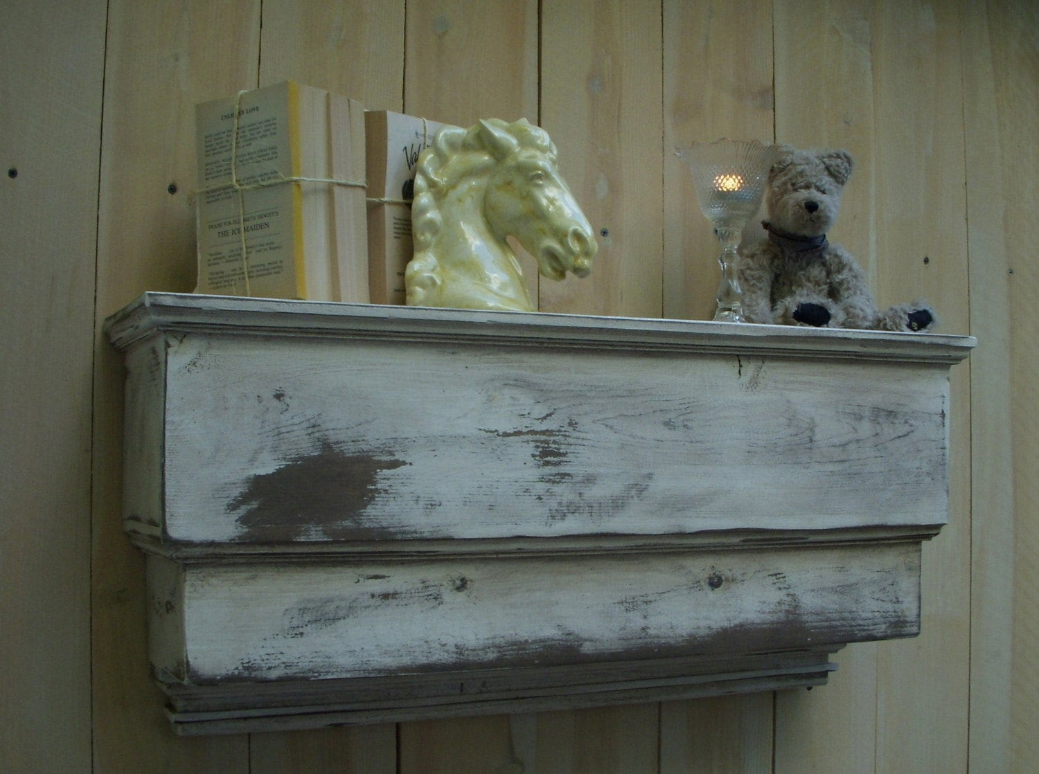 Very Impressive portraiture of Wood Wall Shelf Ledge You Choose Color 31 by honeystreasures with #595138 color and 1500x1118 pixels