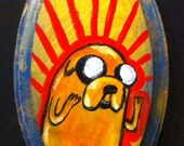 Jake The Dog Adventure Time Original Artwork Painting