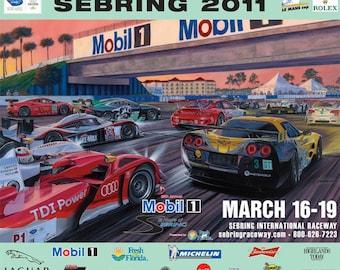 Sebring 2011 Official Poster