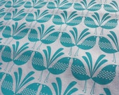 belbird - screen printed fabric