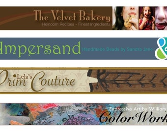 Banner Custom Graphic Design for your shop, website or internet page