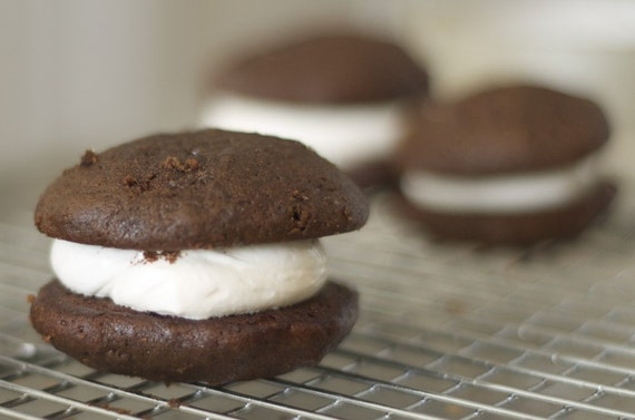 Gluten Free and Vegan Chocolate Whoopie Pies