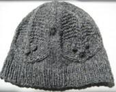 Trilobite Knit Hat - Grey
