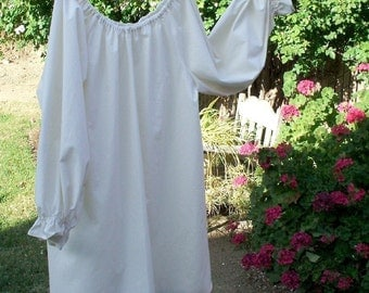 Renaissance Chemise Peasant Blouse Womens XS - XLg Custom Made