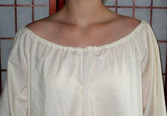 CUSTOM Chemise XLg - 2X Womens Full Length Renaissance Nightgown