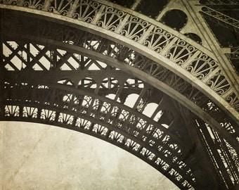 Eiffel Tower Decor, Vintage Style, Eiffel Tower Print, Paris Decor, Eiffel Tower Paris, Old World, Paris photography, Tour Eiffel - Timeless