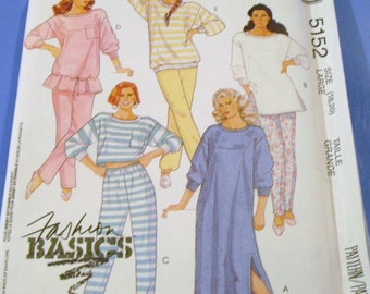 Misses Actve Loungware Pattern 5152