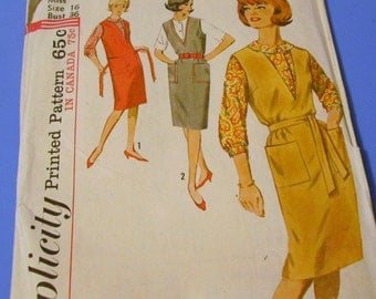 Vintage Sixties Jumper and Blouse Pattern 5067