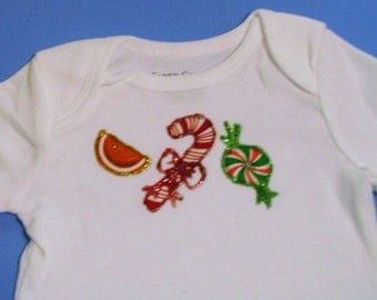 Christmas Candy Onesie