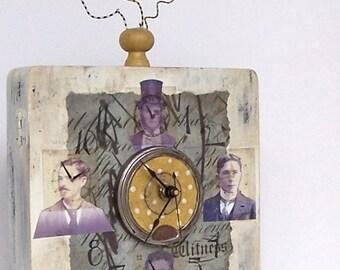 Mixed Media Clock Box - CLOCK FACES