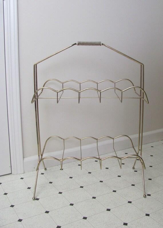 Vintage Mid Century Modern / Hostess Rack