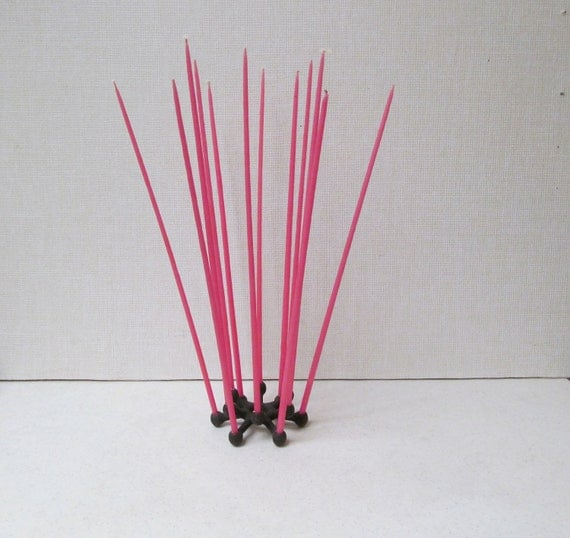 Dansk Spider  / Thin Taper Candle Holder / Danish Modern / Taper Weight / Mid Century / Vintage