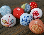 NEW hand painted custom drawer knobs