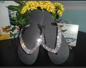 Swarovski Crystal Embellished Flip Flop