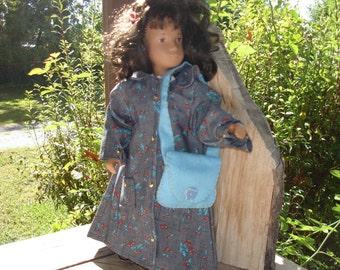 Sturdy Raincoat for Doll or Teddy Bear