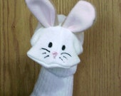 Rabbit Bunny Sock Puppet