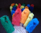 30 Bright color Finger Puppets classroom party favors prizes