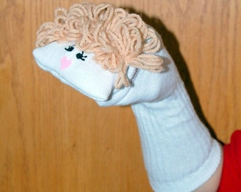 Mother Sock Puppet from Puppets by Margie