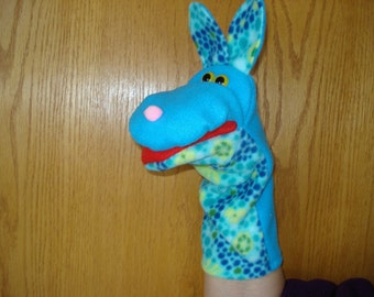 Rabbit Bunny hand puppet