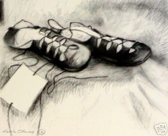 Dancing Shoes Drawing Irish Dancing Shoes Drawing