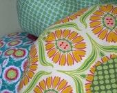 Spots - Gumdrop Tuffet floor pillow - small