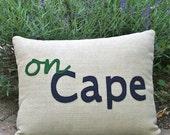 On Cape pillow - Cape Cod
