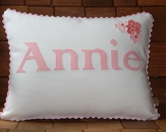 Annie - Personalized Baby Pillow