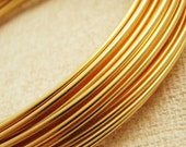 14 gauge Gold Colored Wire -10 feet - 3 Meters - 100% Guarantee - Enameled Coated Copper
