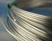 1/2 Troy Ounce Silver Filled Wire - Half Hard & Dead Soft - Perfect Sterling Alternative - 10% Silver Bonded to White Brass - You Pick Gauge