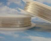 Non Tarnish Silver Plate Artistic Wire - 1/4 lb - Permanently Colored - You Pick Gauge 18, 20, 22, 24, 26, 28, 30, 32 - 100% Guarantee