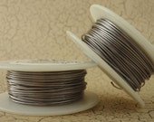 Spring SALE - 20 gauge Titanium Colored  Wire - 40 Feet - 12 Meters  Enameled Coated Copper - 100 % Guarantee