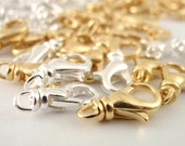 Swivel Lobster  Clasps - You Pick Finish, Size and Quantity - Perfect for Bracelets -  Best Commercially Made - 100% Guarantee