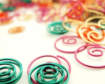 Colorful Wire Swirls, Spirals, Whirly-Gigs, Thing-A-Ma-Jigs - Regardless of What You Call Them They Are Fun