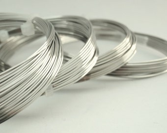 Square Jewelry Grade Stainless Steel Wire - Premium - You Pick Gauge 18, 20, 21, 22, 24 - 100% Guarantee