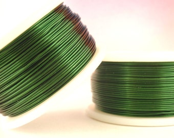 Green Enameled Coated Copper Wire - 100% Guarantee - YOU Pick the Gauge 14, 16, 18, 20, 22, 24, 26, 28, 30, 32